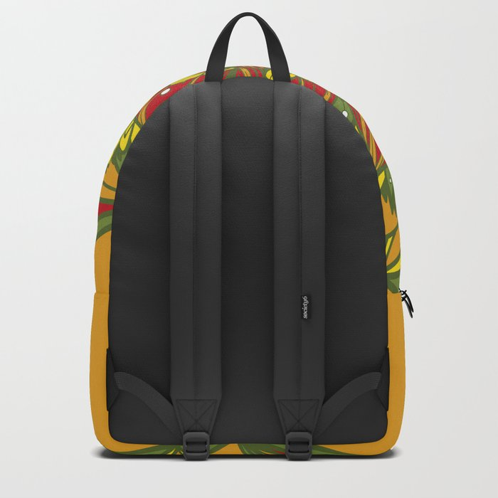 Summer mandala 4 Backpack