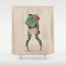 ...stings like a bee! Shower Curtain