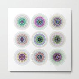 3x3 06 Metal Print