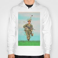 camouflage Hoodies featuring Real camouflage by Tony Vazquez