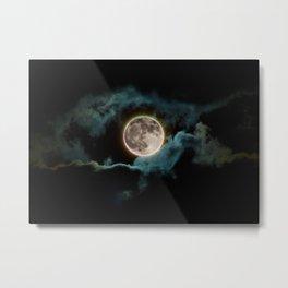 Hunter's Moon Metal Print