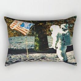 the first man under a tree Rectangular Pillow