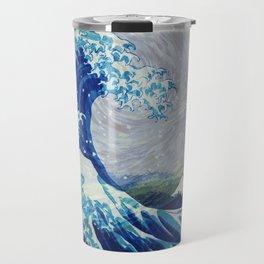 The Starry Night Wave Travel Mug