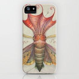 Squid Moth iPhone Case