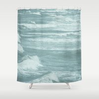into the wild Shower Curtains featuring Wild by SuzanneCarter