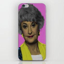 Bea Arthur: The Golden Girls iPhone Skin