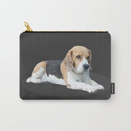 Beagle Dog #3 Carry-All Pouch