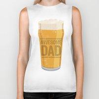 dad Biker Tanks featuring DAD by Kiley Victoria
