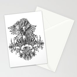 Eagle Crest for people who like  fantasy legends and mythical creatures  Stationery Cards