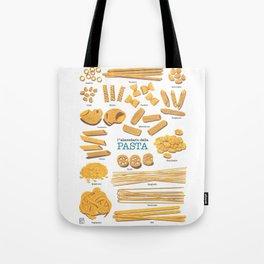 Pasta Tote Bag
