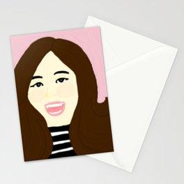 Knock Knock! Tzuyu Pink Stationery Cards