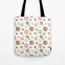 Pattern donuts Tote Bag