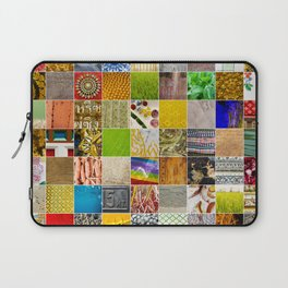 Colors and Textures of SE Asia Laptop Sleeve