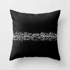 Ashbridges Bay Toronto Canada Breakwall 1 Throw Pillow