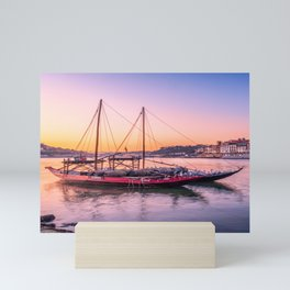 Porto Boat Mini Art Print