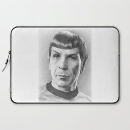 Spock - Fascinating (Star Trek TOS) Laptop Sleeve