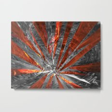 Contents May Have Unsettled During Transit Metal Print