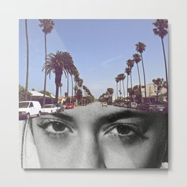 Sofi California Metal Print