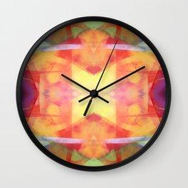Symmetric Kandinskiffiti Wall Clock