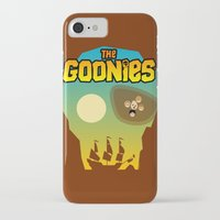 the goonies iPhone & iPod Cases featuring The Goonies by tuditees