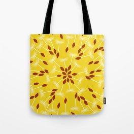 Dandelion Seed Pattern Tote Bag
