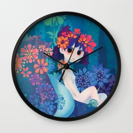 Boy and girl Wall Clock