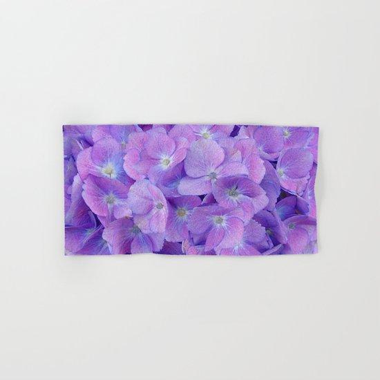 Hydrangea lilac Hand & Bath Towel