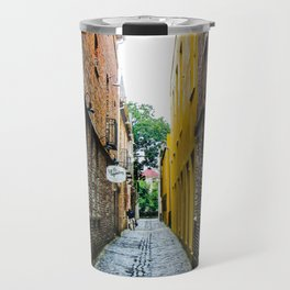 Alley to the Past Travel Mug