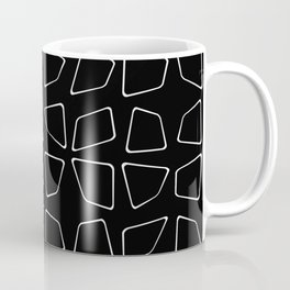 Changing Perspective - Simplistic Black and white Coffee Mug