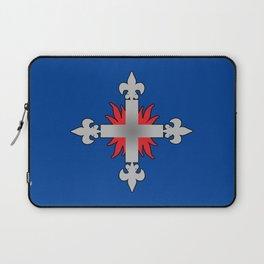 Three Musketeers Uniform Logo Laptop Sleeve