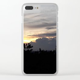 Southern Shallow Shades Clear iPhone Case
