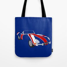 Shaguar (On Blue) Tote Bag