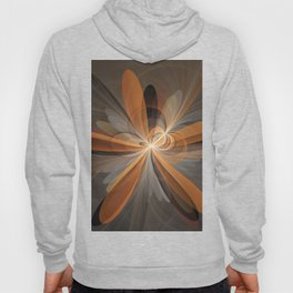 Fractal Shapes Of Fantasy Flowers Hoody