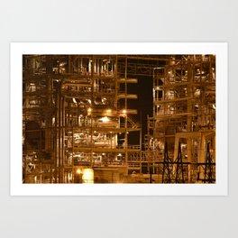 Ocotillo Power Plant Art Print
