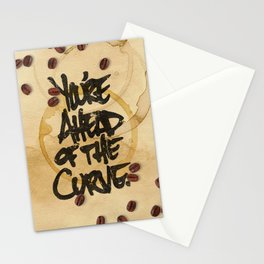 You're Ahead of the Curve. Stationery Cards