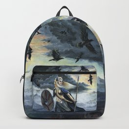 Valkyrie and Crows Backpack