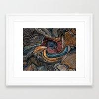 aperture Framed Art Prints featuring aperture  by David Kesslers digital  art