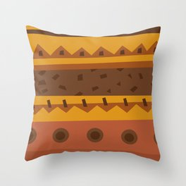 Dug Dig Throw Pillow