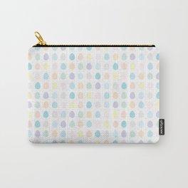 Mini Pastel Polkadot Carry-All Pouch