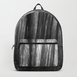 Creepy trees, black and white Backpack