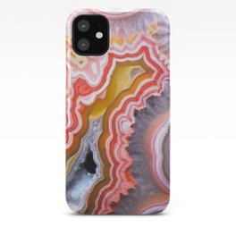 Agate Gem slice iPhone Case
