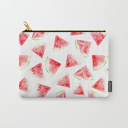 Watercolor watermelons Carry-All Pouch