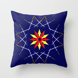 Katana Sword Design version 3 Throw Pillow