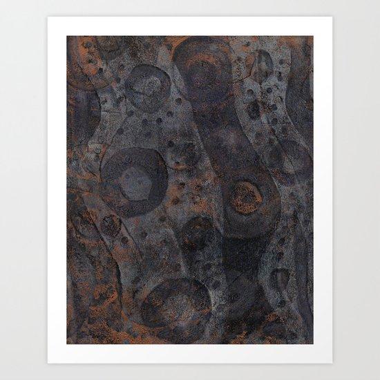 Gaskets Art Print