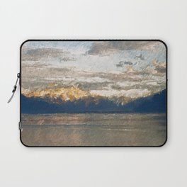 Yet another lake & mountain landscape | 2 Laptop Sleeve