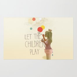 Let the children play Rug