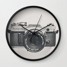 Vintage Camera Phone Wall Clock