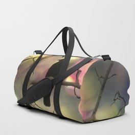 Crow Dreams In Colors Duffle Bag