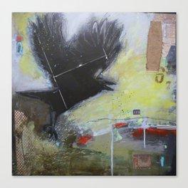 Crow1 Canvas Print