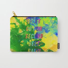 Don't go for Second Best – A Hell Songbook Edition - Olympic Games Rio de Janeiro - Brazil Carry-All Pouch
